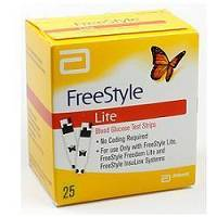 FREESTYLE LITE GLICEMIA 25STR