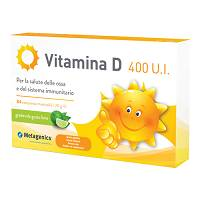 VITAMINA D 400 UI 84CPR