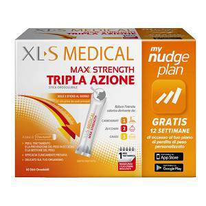 XLS MEDICAL MAX STRENGTH60STIC